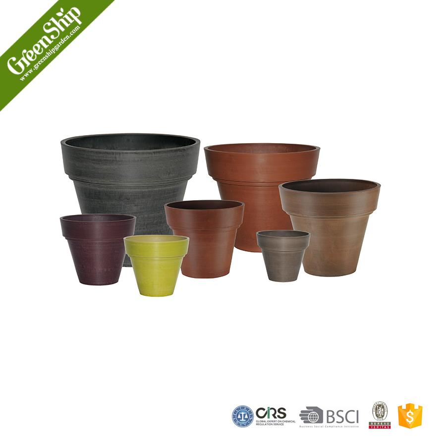 haute qualit diff rents types de fiber de verre grand pot de fleur greenship pots fleurs. Black Bedroom Furniture Sets. Home Design Ideas