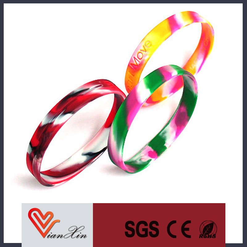 promotional bulk cheap no minimum free shipping custom silicone wristband