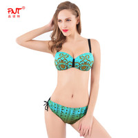 PNT 2016 Sexy Women Swimwear Girls swimsuit beautiful beautiful colour new design Fashion Diamond plus size women Bikini