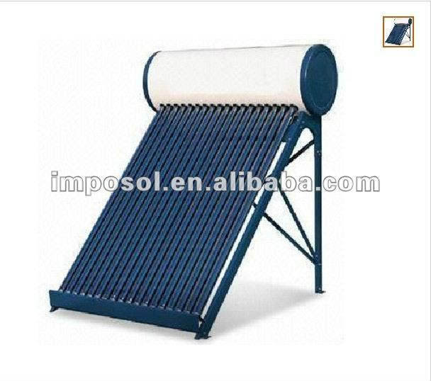 Imposol low pressure Solar Heater water for family use 200L