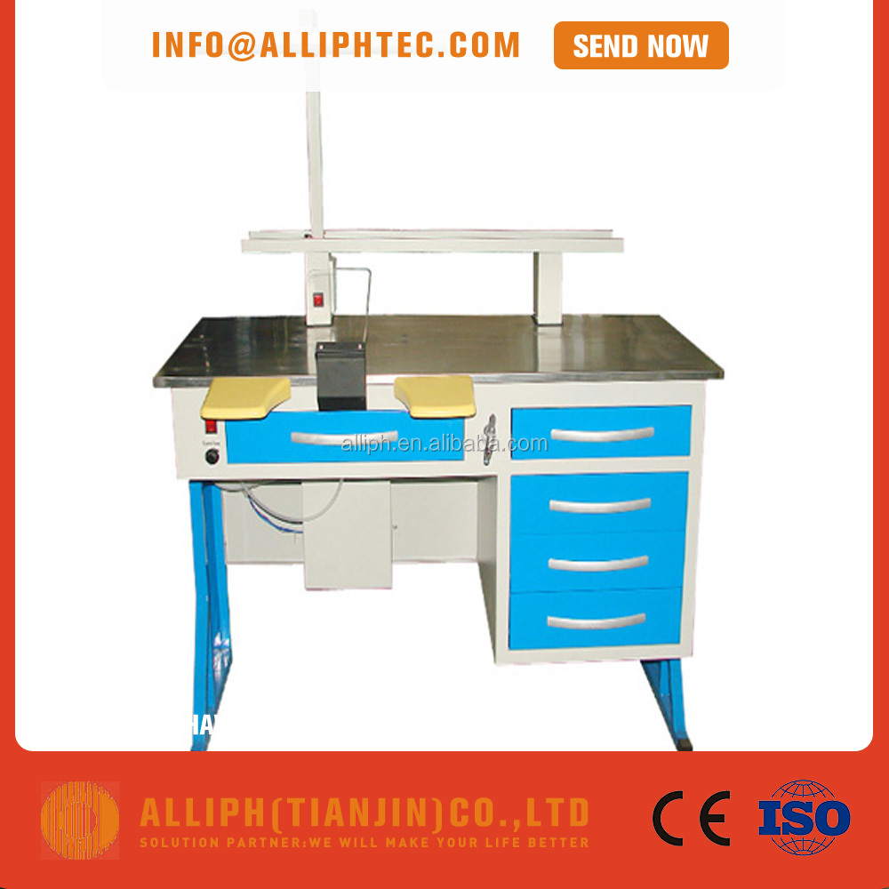 Single person dental lab technician work bench
