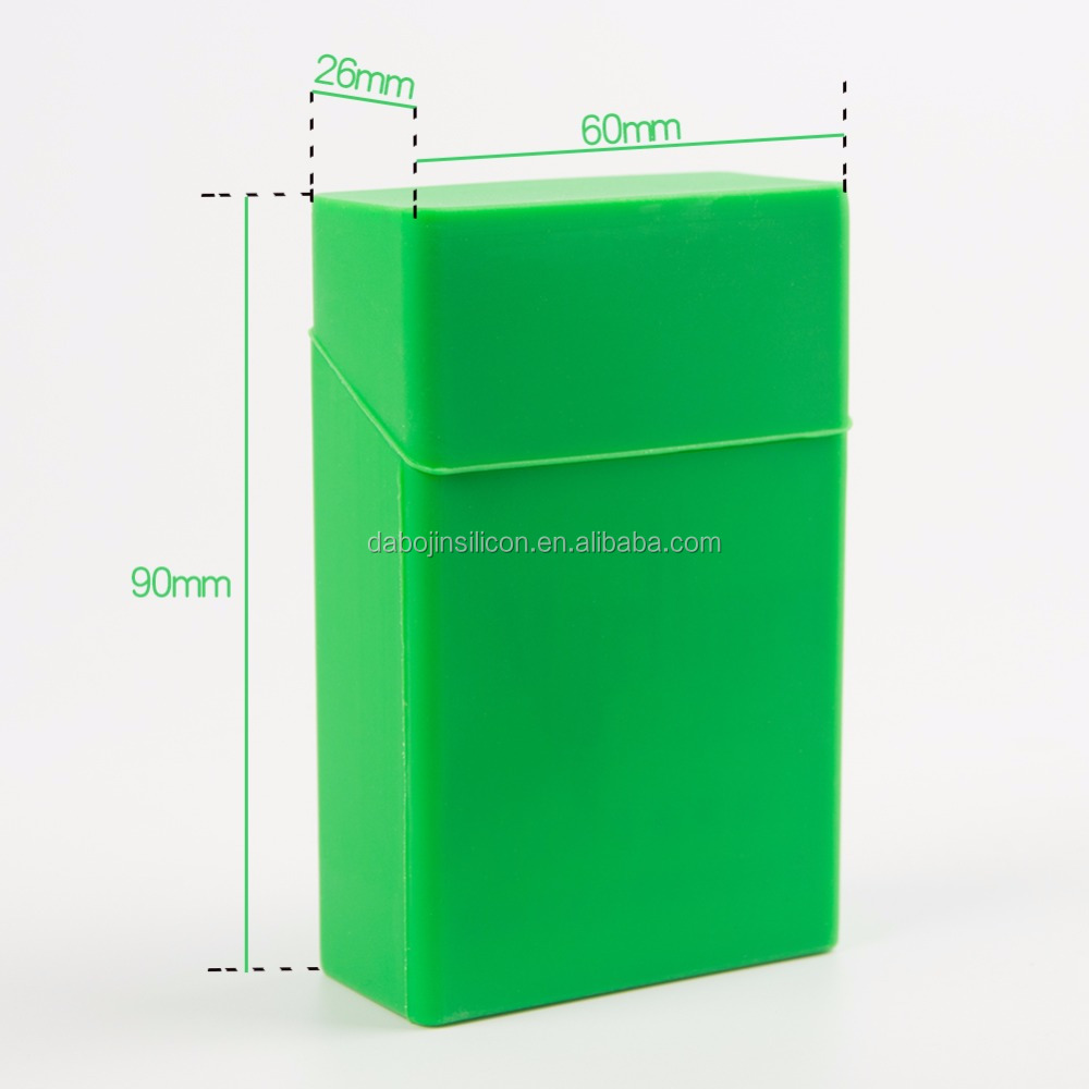2017 new Custom made Cigarette product Silicone Cigarette Case/cigarette box/ Cigarette pack Cover