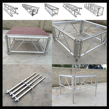 aluminum screw tubular truss stage light frame