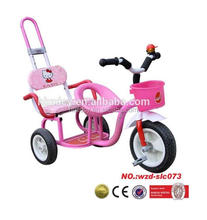 Pink baby tricycle kids bicycle