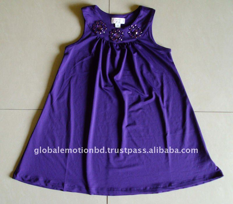 2012 Latest design cute girls dress