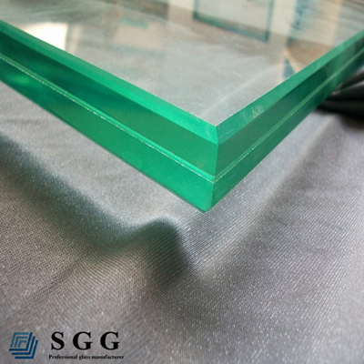 High Quality laminated tempered glass, clear, blue, green, grey, bronze