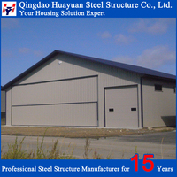 Class one qualified Alkyd painting Pre-engineered steel structure plant building