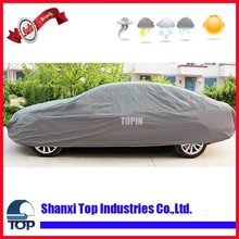 Lsize Silver car cover for waterproof dustproof and resist snow sunscreen dust