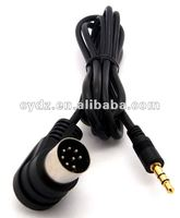 Car audio/video cable linking IPOD/IPHONE with CLARION car acoustics, CCA-3.5 ,
