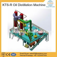 Black Oil Refining Plant/ Waste Engine Oil Recycling Machine