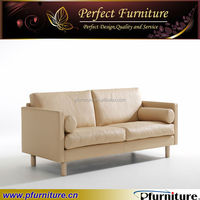 PFS5672 Leather wooden Simple cheap China sofa