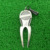 Alloy Golf Club Ball Putting Green Fork Divot Lawn With Mark Golf Club Repair