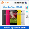 2014 Cheapest Price 4.5' Quad Core 1GB RAM 4GB ROM Android 4.2 telefonos moviles ultima generacion