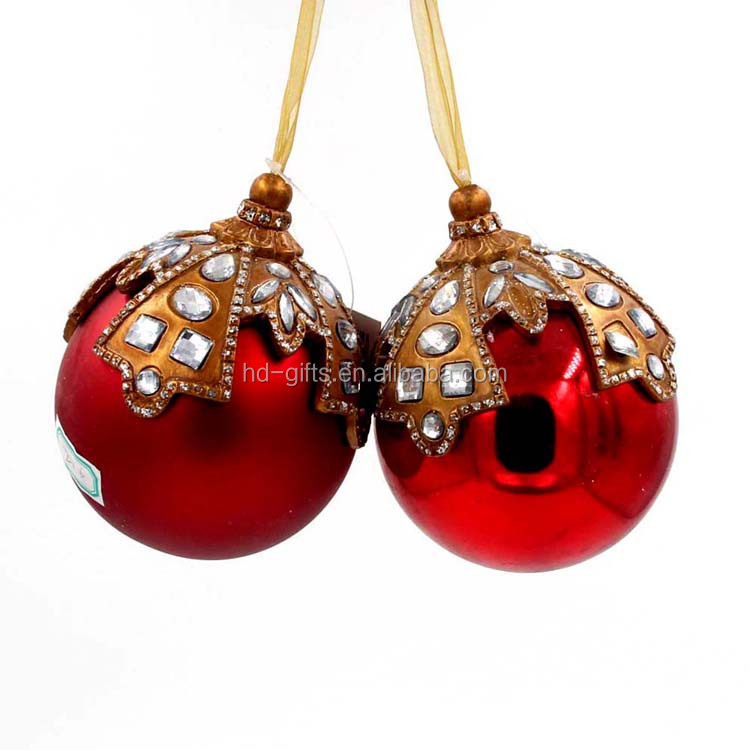 PVC Christmas tree decoration of christmas ball ornament caps