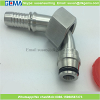 manufactures of pipe fittings compressor mining water pipes hydraulic hose fitting parker 20541