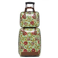 Marksman Colorful PU Leather Case With Trolley