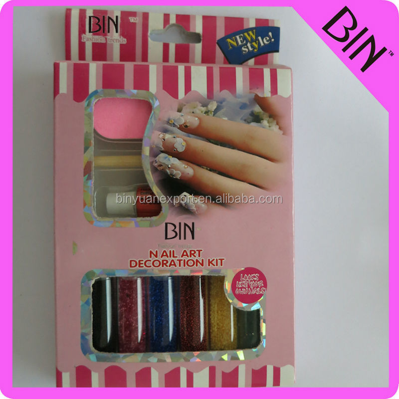BIN nail care tools and equipment set