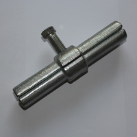 Galvanized scaffolding coupler for bone joint pin