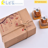 Lightweight take away disposable paper eco friendly food packaging cake box,birthday cake packaging box