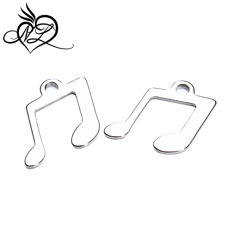 Fashion <strong>new</strong> arrival cheap wholesale custom stainless steel music charms
