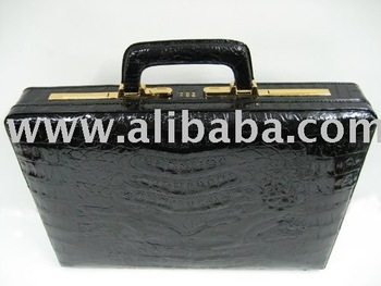Leather Products: Crocodile / Alligator Leather Briefcases, Bags