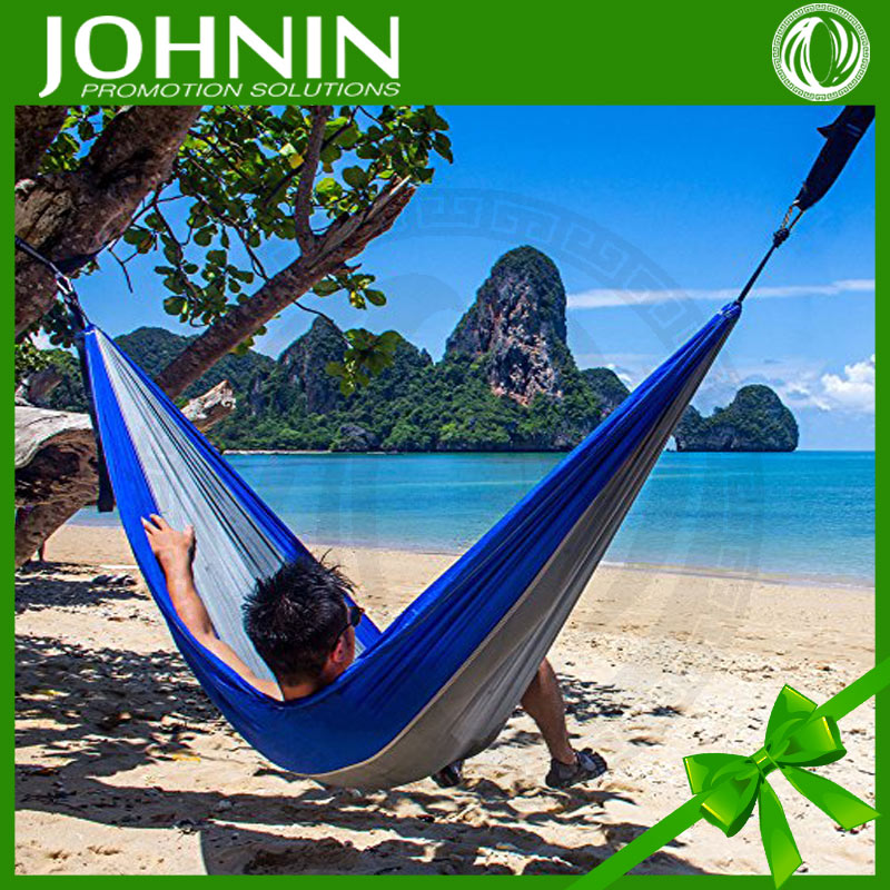 Customize Outdoor Leisure Travel Nylon Taffeta Fabric Hammock