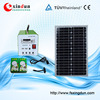 Portable DC solar power lighting system/solar lighting system for indoor/solar lighting system with MP3 function