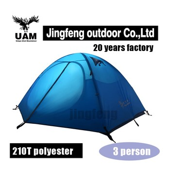 High quality tent for 2 person outdoor camping equipment