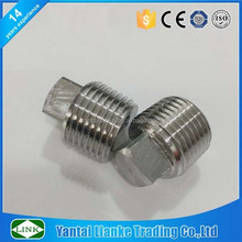 stainless steel square oil plug for car