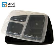 wholesale eco-friendly 3 compartment leakproof children lunch box