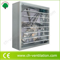 Best selling high speed industrial louvered exhaust fans