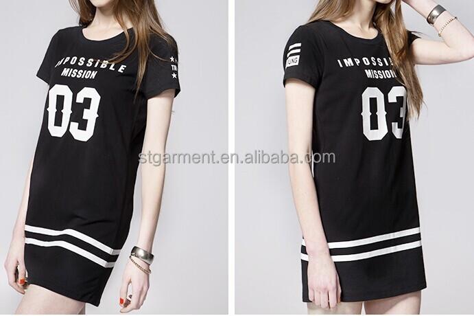 Frauen extra lange t shirts damen lose tee frauen t for Long t shirts for ladies online