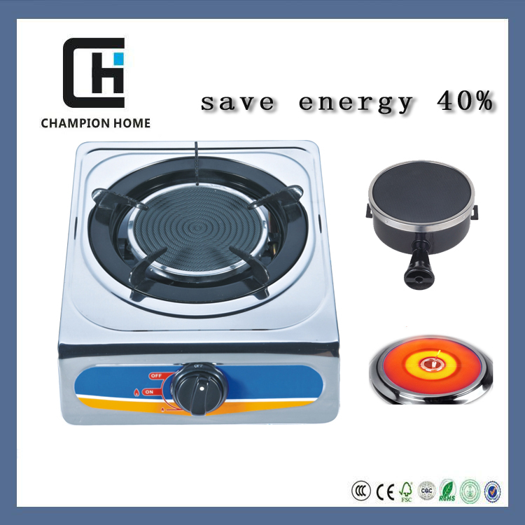 Kitchen electrical appliances CE Certification and Table Installation gas cooker