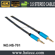Custom AUX Stereo Jack 3.5MM Audio Cable