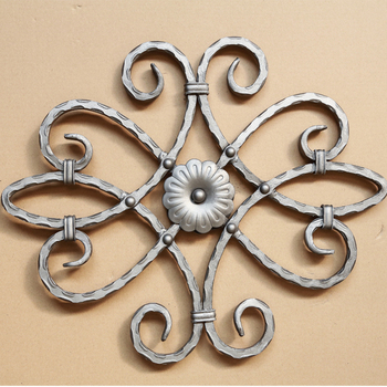 decorative wrought iron ornaments for fence