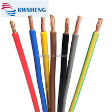 450/450V Stranded Copper Conductor 2.5mm2 PVC Insulated Solid Flexible Electrical Cable Power Cable for Construction