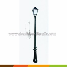 garden decorative outdoor/indoor antique cast iron lamp post
