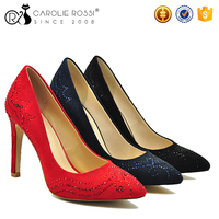 New elegant anniversary women shoes latest footwear for girls