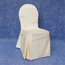 YC-856-09 Wholesale cheap cotton and polyester round top chair cover for weddings