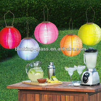 led solar garden lantern light