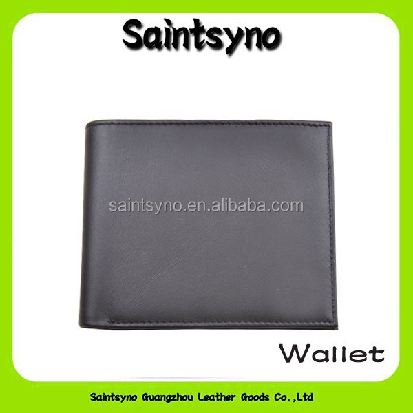 13122A New style promotional gift men lether wallet