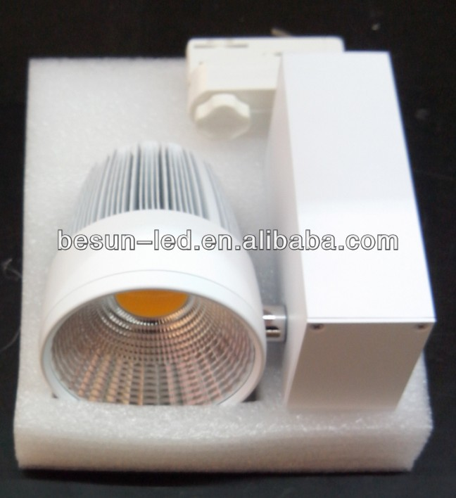 2013 Popular Ra82-95ra 4 wires connector cob led track light 10w with 3 years warranty