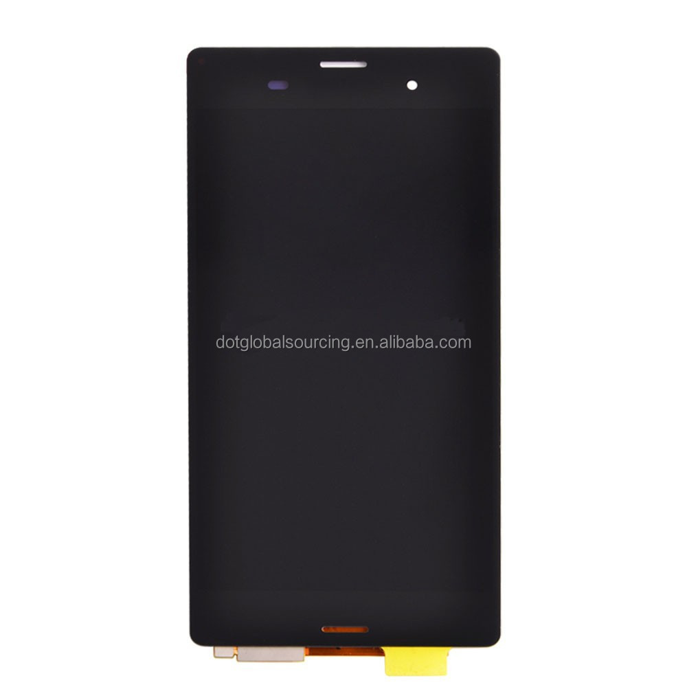 High Quality LCD Display Screen Touch Digitizer Assembly With Frame For Sony Xperia Z3