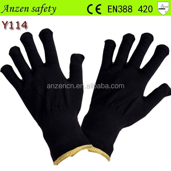 cut resistant white nylon glove for sale