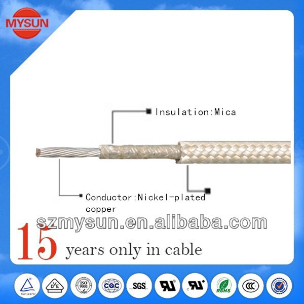 Special mica fiberglass wire pull rods fish tape