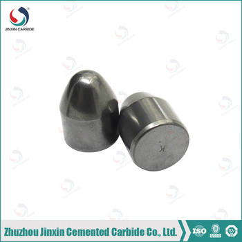 Super quality mining buttons, carbide button for rock drill bit