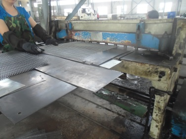Shearing (Expanded Metal & Perforated Metal)