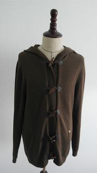 Fashion Long Hooded Cardigan Sweater For Young Men - Buy Long ...