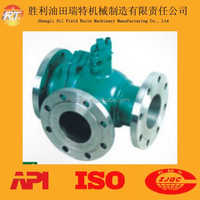 Three Way Ball Valve For Oilfield