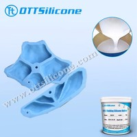Tin cured silicone rubber for climbing holds casting/ mold making silicone for artificial stone & conceret products casating